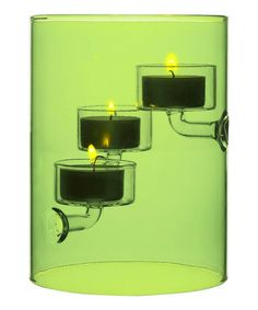 Take a look at this Green Tube-Light Candleholder by Sagaform on #zulily today!