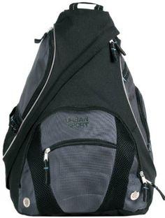 Amazon.com: Urban Sport Black Polyester Cross Body Outdoor Biking Backpack: Clothing