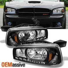 2003-2006 Lincoln LS Bumper HeadLamp LED Strips 05 06 (audi Style) - фото 8