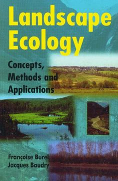 Landscape Ecology: Concepts, Methods, and Applications Ecology, Conservation, Landscape Design, Concept, Teaching, How To Plan, Painting, Landscape Designs, Painting Art