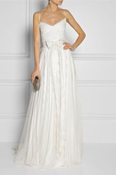 Stunning Marchesa wedding dress