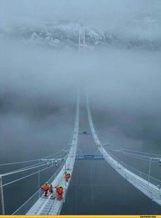 The Hardanger (aka the Norway Sky Bridge) is a bridge between Ullensvang and Ulvik in Hordaland, Norway.