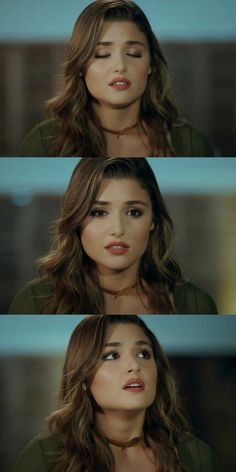 💚 World Most Beautiful Woman, Beautiful Girl Image, Gorgeous Women, Teal Eye Makeup, Hair Makeup, Turkish Beauty, Indian Beauty, Teal Eyes, Hande Ercel
