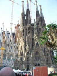 Cathedral in Barcelona Spain