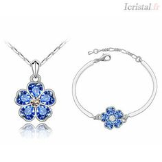 Pack-flower jewelry by SWAROVSKI ELEMENTS