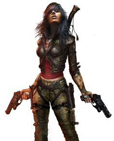 Like lookin' in a mirror. Cyberpunk Girl, Cyberpunk Character, Fantasy Female Warrior, Fantasy Girl, Female Character Concept, Character Art, Apocalypse Art, Sci Fi Characters, Shadowrun