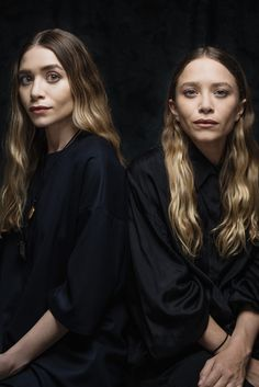 "Mary-Kate Olsen and Ashley Olsen for The Row, CFDA Womenswear Designer of the Year nominee; Accessory Designer of the Year nominee. ""I like to think that we're nominated for our consistency,"" -- Mary-Kate Olsen [Photo: Sasha Maslov]"