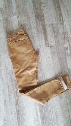 6cade8d7169 Pantalon camel slim 38 - Pantalon peau de peche Couleur camel Taille 38  Taille elastique Avec