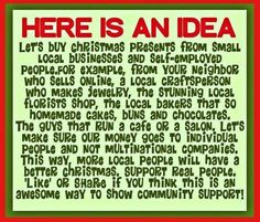 THIS ISN'T A DIY PROJECT BUT A SUGGESTION TO SHOP LOCAL THIS SEASON AND SHOW SOME LOVE TO LOCAL ARTISANS