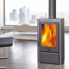 Panadero Artic - 6.5kw Contemporary Wood Burning Stove - £875.00