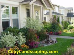 Gorgeous  front yard landscaping ideas images