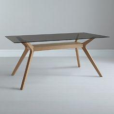 Buy John Lewis Akemi Rectangular 6 Seater Dining Table Online at johnlewis.com