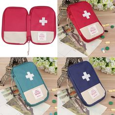 Outdoor Camping Home Survival Portable First Aid Kit bag Case