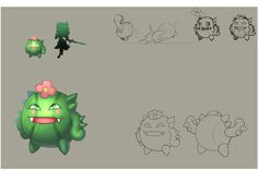 - Cactul - Skywind Heroes - Pet and Monster Artwork. Challenge, Fight and Catch Them Some monster can be capture and some are not #SWH #Faveo #artwork #art #MMORPG #Freeonlinegame #onlinegame #Webgames