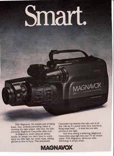 10 Best Vintage Camcorder Ads Images Camcorder Ads Television Network