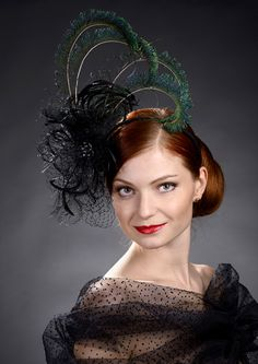 New fascinator by Marge Iilane #millinery #hats #HatAcademy