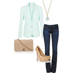 """""""Casual Chic"""" by bides on Polyvore"""