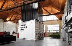 Inspiration: Cargo Containers In Offices