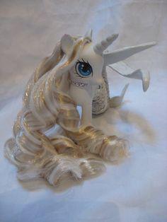 Orelia custom G4 my little pony mermaid by AssassinKittyCustoms, £50.00