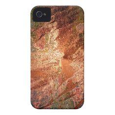 creamy colors, bronze iPhone 4 case