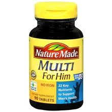 Multi For Him Dietary Supplement Tablets #happyhealthy