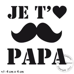 2. de 2 à 4.99 € : TAMPON JE T'AIME PAPA (MOUSTACHE) Moustache, Cadeau Parents, Best Quotes, Nice Quotes, Image T, Scan And Cut, Silhouette Portrait, Tampons, Vintage Photos