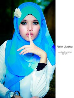 beautiful hijab (Fatin Liyana) | Flickr - Photo Sharing!