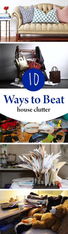 Try these great ways to get your house decluttered!