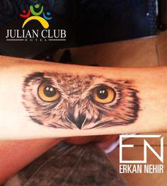 owl tattoo #owl #tattoo #tattoos #animal #wild #realism