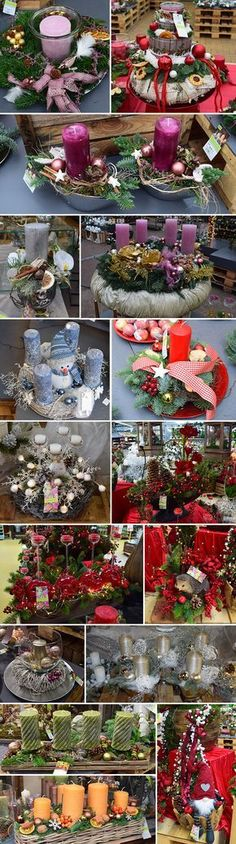Christmas Eve is not far off when the advent season begins and lovingly designed Advent floristry will guarantee a festive atmosphere Christmas Candle Decorations, Christmas Wreaths To Make, Christmas Arrangements, Merry Christmas To All, Homemade Christmas Gifts, Christmas Candles, All Things Christmas, Christmas Time, Christmas Crafts