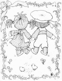 Coloring Book~Buttons & Bo - Bonnie Jones - Picasa Web Albums