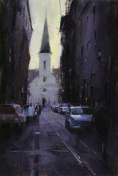 Tibor Nagy (b. 1963, Rimavská Sobota, Slovakia) - A New Story, 2014    Paintings: Oil on Linen