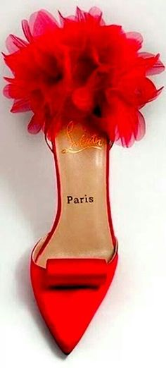 Fun, red, Louboutin's