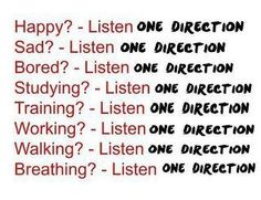 Seriously. But I feel like all these sentences are missing a 'to' one direction. Hahah
