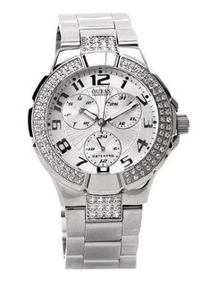 ffb6f048173 Brand new authentic Guess watch in original packaging with warranty Band  material  stainless steel Case · Relógios GuessRelógio FemininoCaixa De Aço  ...