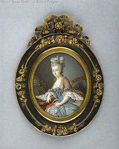 Miniature représentant Marie-Antoinette.