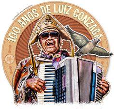 Luiz Gonzaga, O Rei do Baião. É daqui também.