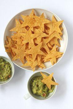 Star Shaped Tortilla