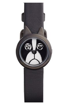 marc by marc jacobs critter dog dial watch. i won't even care for time. i just want you on my wrist! #love