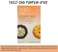 TEN PRODUCTS FOR PEOPLE WHO LOVE PUMPKIN SPICE (PART 2)