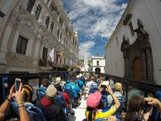 $15/person 3-hr tour of Quito that allows hop on/off 9am-4pm