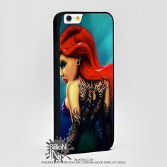 Ariel The Litle Mermaid Punk For Apple, Iphone, Ipod, Samsung Galaxy Case
