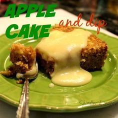 Spindles Designs by Mary & Mags: Apple Cake and Dip