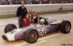 Mel Kenyon at Indy 500