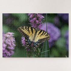 Butterfly Photo Puzzle. Jigsaw Puzzle -nature diy customize sprecial design