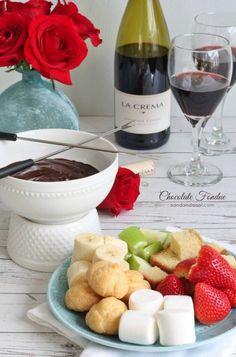 Dark Chocolate Raspberry Fondue | Recipe | Fondue, Raspberries and ...