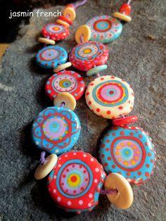 °°jasmin French°° Wanderlust Lampwork Beads Set SRA | eBay