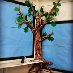 New Paper Tree Classroom Bulletin Boards Reading Corners Ideas Paper Tree Classroom, Owl Classroom, Classroom Bulletin Boards, Classroom Design, Kindergarten Classroom, Classroom Ideas, School Displays, Classroom Displays, Bulletin Board Tree