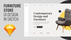 Furniture Store Website UI using Sketch & Photoshop – Speed Art Tutorial – Business Loans and Ideas Ui Design Tutorial, Design Tutorials, Art Tutorials, Sketch Photoshop, Speed Art, Hello Everyone, Furniture Makeover, Website, Store