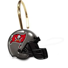 $12 NFL Tampa Bay Buccaneers Shower Curtain Rings, Set of 12